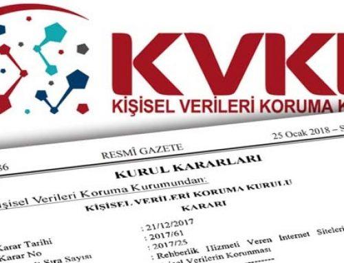 Kişisel Verilerin Korunması Kanunu ile VERBİS Sistemi Hakkında